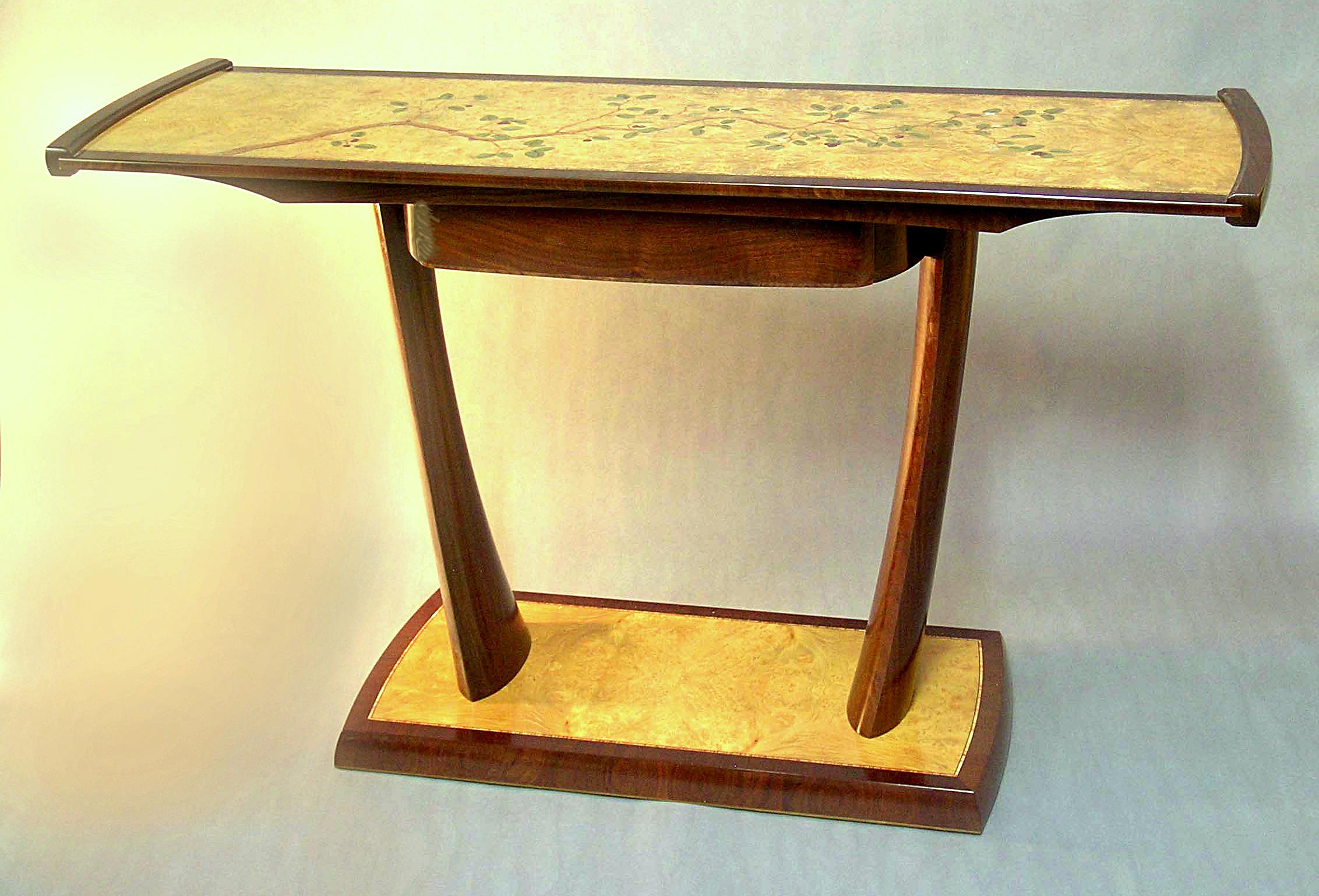 20. Manzanita Table - Paul Schürch - Veneer Artist
