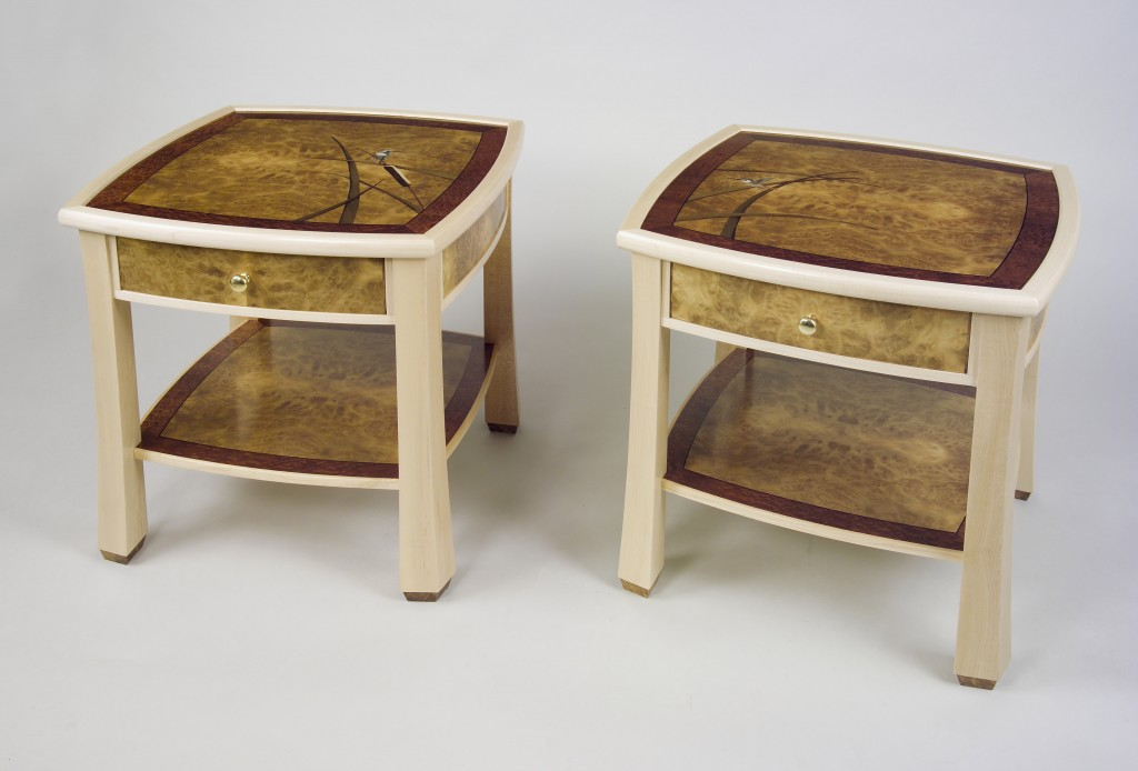 49 Cat Tail Side Tables Paul Sch Rch Veneer Artist