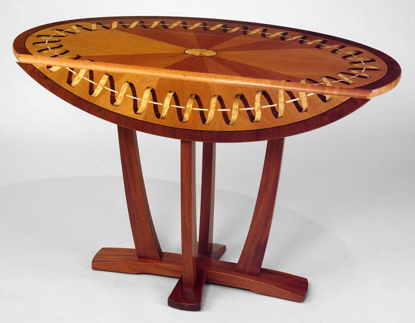 Ribbon Oval Table by Paul Schürch