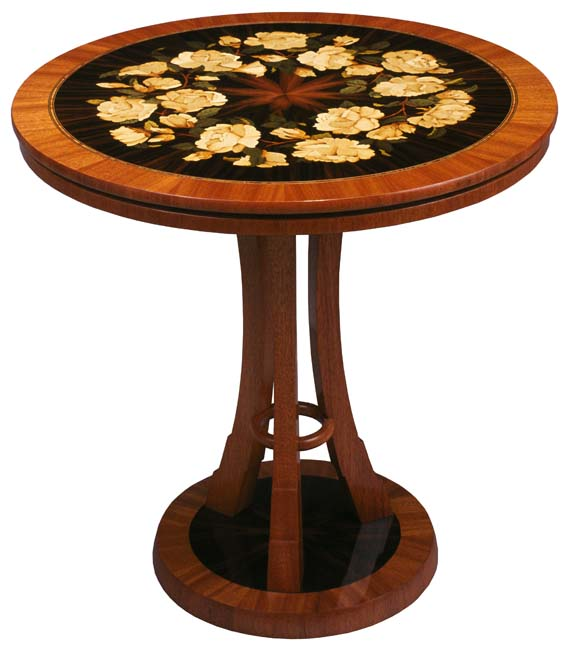 Rose Bouquet Table by Paul Schürch