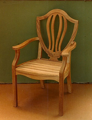 Shieldlback Chair